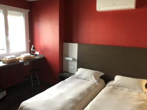 Hotel La Hourquie Cafe : Chambre Double