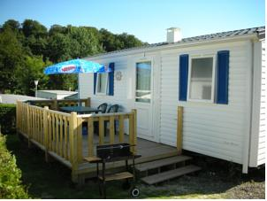 Hebergement Camping La Kilienne : Mobile Home 2 Chambres
