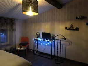 Hebergement Communay - Chambre privee 1/2 : photos des chambres