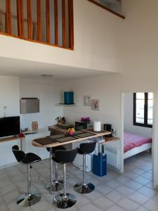 Appartement GRUISSAN VILLAGE APPT T3 DUPLEX : Appartement 2 Chambres