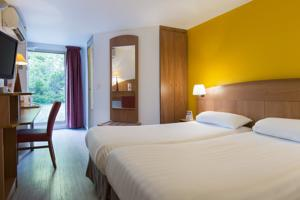 Comfort Hotel Grenoble Meylan : Chambre Lits Jumeaux