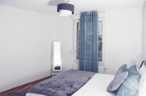 Appartement Cocooning 2 pieces neuf, 15mn de Strasbourg, WIFI, parking prive : photos des chambres