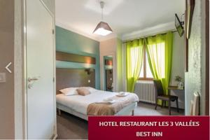 Hotel Best Inn Les 3 Vallees : Chambre Double