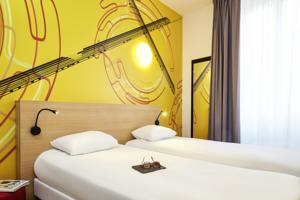 Hotel ibis Styles Marseille Gare Saint-Charles : Chambre Lits Jumeaux Standard
