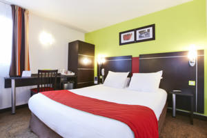 Hotel Kyriad Design Enzo Reims Tinqueux : Chambre Double