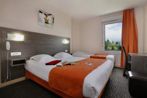 Hotel The Originals Saint-Etienne Sud L'Acropole (ex Inter-Hotel) : Chambre Triple Confort