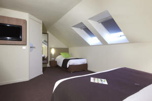 Hotel Campanile Dunkerque Sud - Loon Plage : Chambre Triple New Generation (1 Lit Double + 1 Lit Simple)