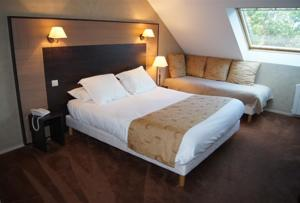 Hotel The Originals Auray Sud Alicia (ex Inter-Hotel) : Chambre Triple