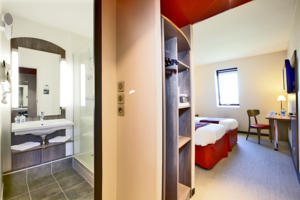 Hotel Kyriad Compiegne : Chambre Lits Jumeaux