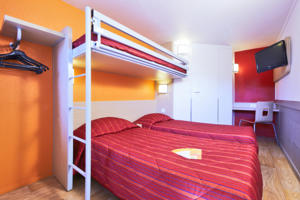 Hotel Premiere Classe Lille Nord - Tourcoing : Chambre Triple