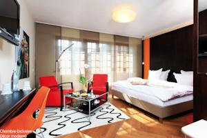 Hotel - Restaurant Le Cerf & Spa : Chambre Exclusive