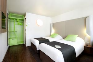 Hotel Campanile Lille Nord Wasquehal : Chambre Lits Jumeaux