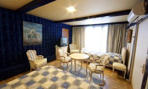 Chambres d'hotes/B&B Les Willows : Chambre Triple