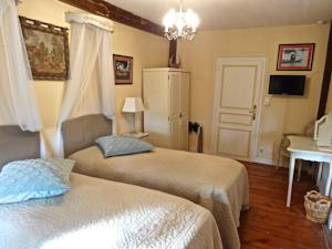 Chambres d'hotes/B&B Chateau Les Vallees : photos des chambres