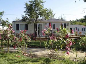 Hebergement Camping La Digue : Mobile Home 3 Chambres