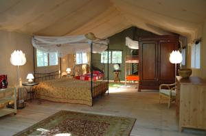 Hebergement Safari Lodge du Grand Bois : Tente de Luxe (4 Personnes)