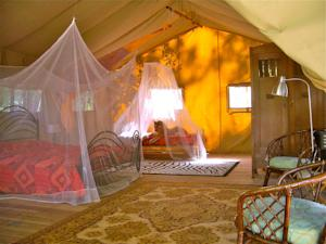 Hebergement Safari Lodge du Grand Bois : Tente de Luxe (2 Personnes)