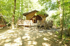Hebergement Safari Lodge du Grand Bois : Tente de Luxe (5 Personnes)