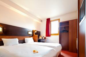 Hotel ibis budget Chilly-Mazarin Les Champarts : Chambre Lits Jumeaux