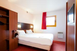 Hotel ibis budget Chilly-Mazarin Les Champarts : Chambre Double