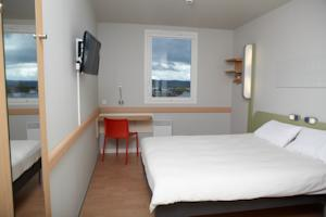Hotel ibis budget Pontarlier : Chambre Double