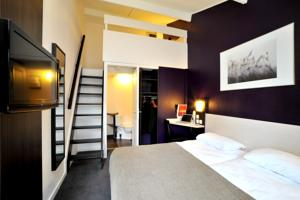 Brit Hotel Lyon Nord Dardilly : Chambre Triple Supérieure