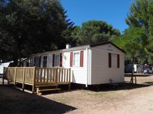 Hebergement Camping le Rancho : Mobile Home 3 Chambres