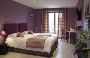 Hotel Blanc : Chambre Lits Jumeaux - Forge