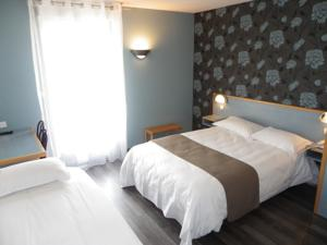 Hotel Les Chataigniers : Chambre Triple
