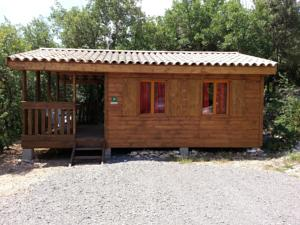Hebergement Camping Ibie : Chalet 2 Chambres