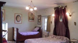 Chambres d'hotes/B&B Bed and Breakfast La Part des Anges : Chambre Familiale