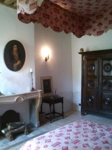 Chambres d'hotes/B&B La Chanoinesse : Chambre Double