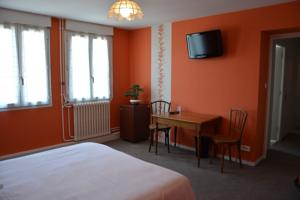 Hotel The Originals Bourg-en-Bresse Gare Terminus (ex Qualys-Hotel) : photos des chambres