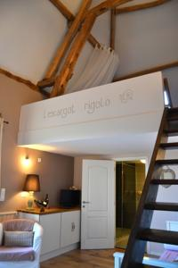 Chambres d'hotes/B&B Chambres d'hotes le Meflatot : Chambre Double Deluxe