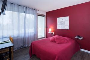 Logis Hotel l'Abricotine : Chambre Double