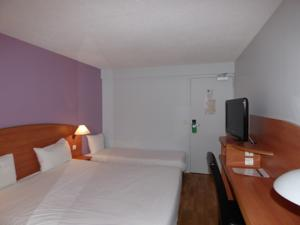 Central Hotel : Chambre Lits Jumeaux