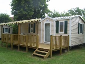 Hebergement Camping Arquebuse : Mobile Home