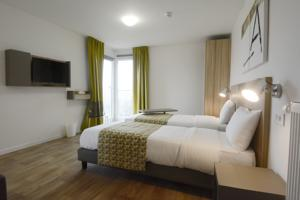 Hotel Lodge In : Chambre Lits Jumeaux