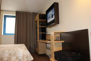 Euro Hotel Orly Rungis : Chambre Simple - Grand Lit