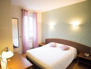 Hotel le Thurot : Chambre Simple