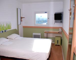 Hotel ibis budget Flers Grands Champs : Chambre Double