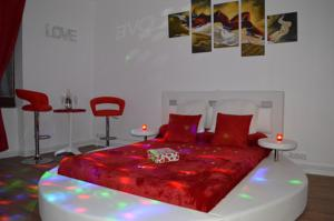Chambres d'hotes/B&B Auberge Les Glycines : Chambre Double Deluxe