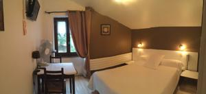 Chambres d'hotes/B&B Auberge Les Glycines : Chambre Double Standard