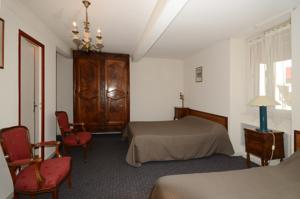 Hotel Fortin : Chambre Lits Jumeaux
