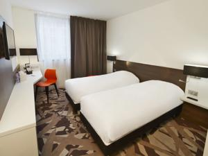 Hotel Kyriad Troyes Centre : Chambre Lits Jumeaux