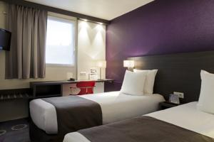 Comfort Hotel Lille Europe : Chambre Lits Jumeaux Standard