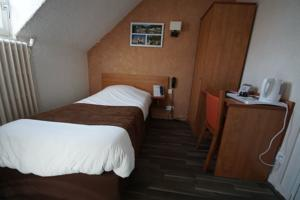 Logis Hotel Beaudon : Chambre Simple