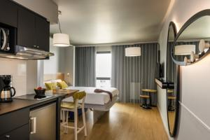 Hebergement Aparthotel Adagio access Colombes La Defense : Studio Lits Jumeaux - 4 Adultes