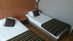Hotel Kyriad Toulouse Sud - Roques : Chambre Lits Jumeaux