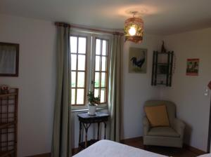 Chambres d'hotes/B&B L'Orchard : Chambre Double